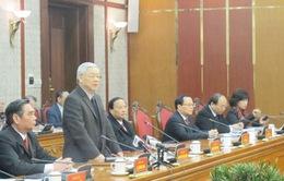Bộ Chính trị làm việc với Ban Thường vụ Tỉnh ủy Điện Biên