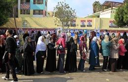 Đại đa số người dân Ai Cập ủng hộ hiến pháp mới
