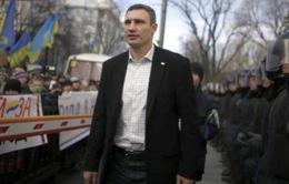 Ukraine: Thủ lĩnh phe đối lập kêu gọi tạm ngừng xung đột