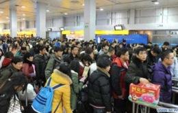 Trung Quốc: Nhu cầu đi lại tăng vọt nhân dịp Tết Nguyên đán