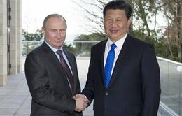 Tổng thống Putin gặp Chủ tịch Trung Quốc trước thềm Olympic Sochi