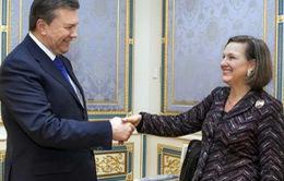 Rò rỉ đoạn băng ghi âm giữa trợ lý Ngoại trưởng Mỹ và Đại sứ Mỹ tại Ukraine