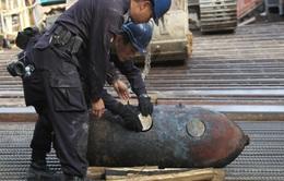 Cảnh sát Hong Kong vô hiệu hóa quả bom từ thế chiến 2