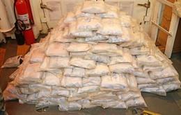 Australia: Hải quân tịch thu và tiêu hủy 353kg heroin