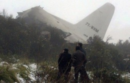 Máy bay quân sự rơi tại Algeria, 77 người thiệt mạng
