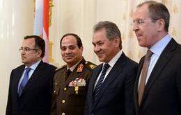 Ai Cập tăng cường hợp tác quân sự với Nga