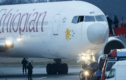 Máy bay bị không tặc buộc phải hạ cánh xuống Geneva