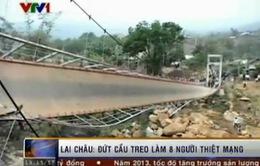 Khắc phục hậu quả tai nạn lật cầu Tam Đường, Lai Châu
