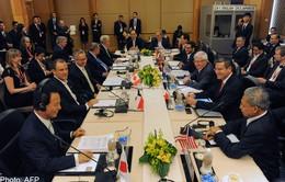 Chưa hoàn tất Hiệp định Đối tác xuyên Thái Bình Dương (TPP)