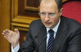 Thủ tướng tạm quyền Ukraine cam kết vực dậy kinh tế