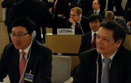 """""""Việt Nam sẵn sàng đóng góp vào các nỗ lực chung của Hội đồng Nhân quyền LHQ"""""""