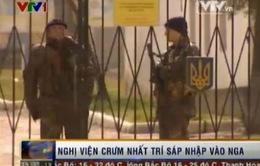 Nghị viện Crimea nhất trí sáp nhập vào Nga