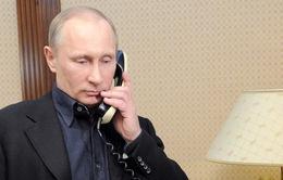 Tổng thống Nga điện đàm với Thủ tướng Anh và Đức về tình hình Ukraine
