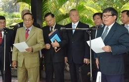Họp Ủy ban hỗn hợp hai chính Đảng Campuchia