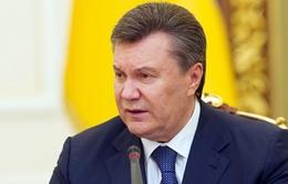 Họp báo lần hai, ông Yanukovych khẳng định vẫn là Tổng thống hợp hiến