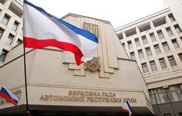 Quốc hội Crimea thông qua tuyên bố độc lập