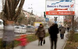 G-7 yêu cầu Nga ngăn chặn cuộc trưng cầu ý dân tại Crimea