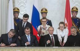 Nga và Crimea ký hiệp ước sáp nhập