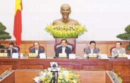 Chính phủ họp phiên chuyên đề xây dựng Pháp luật