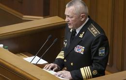 Quốc hội Ukraine cách chức Bộ trưởng Quốc phòng