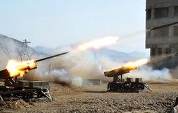 Triều Tiên thông báo kế hoạch tập trận bắn đạn thật