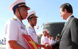 Thủ tướng dự Lễ thượng cờ Tàu ngầm Hà Nội và Thành phố Hồ Chí Minh