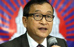Chính phủ Campuchia xem xét tội danh của ông Sam Rainsy