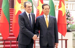 Thủ tướng Nguyễn Tấn Dũng hội đàm với Thủ tướng Bulgaria