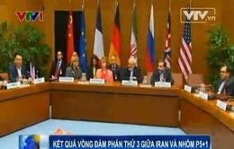 Kết quả vòng đàm phán thứ 3 giữa Iran và nhóm P5+1