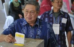 Indonesia: Tỷ lệ cử tri tham gia bầu cử thấp hơn dự kiến