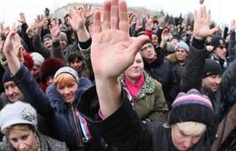 Ukraine miễn truy cứu người biểu tình ở miền Đông