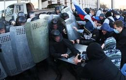 Thỏa thuận bất đạt, căng thẳng ở miền Đông Ukraine biến thành bạo lực