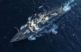 Tàu khu trục Mỹ tới Thổ Nhĩ Kỳ, chuẩn bị tập trận tại Biển Đen