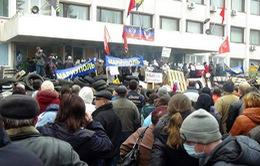 Máu đã đổ trong chiến dịch chống khủng bố ở Ukraine