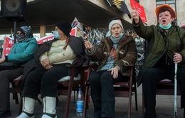 1 ngày sau thời hạn chót trong tối hậu thư, Ukraine vẫn đang yên bình