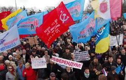 """Ông Putin lên án hành động vũ lực """"vi phạm hiến pháp"""" của chính quyền Ukraine"""