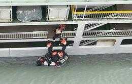 Hàn Quốc huy động tối đa lực lượng giải cứu hành khách trong vụ đắm tàu