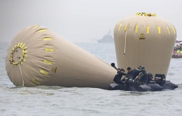 Thợ lặn đã mở được cửa tiến vào thân phà Sewol