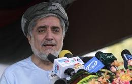 Ông Abdullah tạm dẫn đầu trong cuộc bầu cử Tổng thống Afghanistan