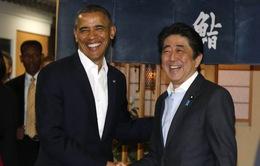 Tổng thống Mỹ ăn tối cùng Thủ tướng Nhật Bản trước khi làm việc chính thức