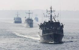 Tập trận tại biển Baltic, NATO phô trương sức mạnh với Nga