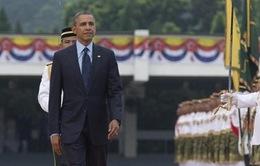Tổng thống Mỹ thăm Malaysia trong chuyến công du châu Á