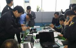 Chìm phà Sewol: Cảnh sát khám xét văn phòng lực lượng cảnh sát biển