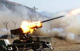 Triều Tiên tập trận bắn đạn thật gần biên giới Hàn Quốc