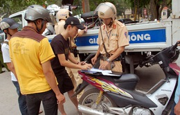 TP.HCM: Tăng cường đảm bảo trật tự an toàn giao thông dịp lễ 30/4-1/5