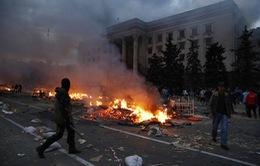 Thủ tướng tạm quyền Ukraine thăm thành phố Odessa sau vụ bạo lực đẫm máu
