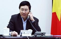 Việt Nam yêu cầu Trung Quốc rút hết giàn khoan HD-981 và tàu khỏi KV thuộc lô dầu khí 143