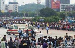 Cảnh sát Trung Quốc triệt hạ nhóm dùng mã tấu chém hành khách ở ga Quảng Châu