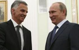 Tổng thống Nga hội đàm với Chủ tịch OSCE