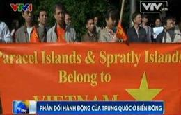 Cộng đồng Việt Nam tại Kiev phản đối hành động xâm lấn thềm lục địa của Việt Nam